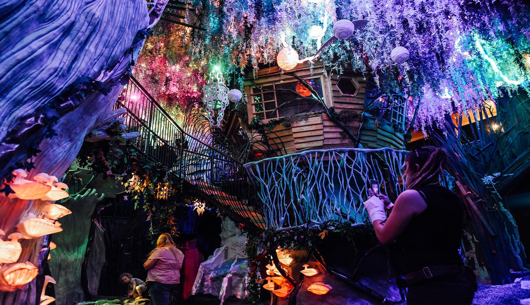 Immersive Experience Meow Wolf House Of Eternal Return Santa Fe Immersion Nation